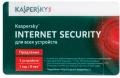 Программный продукт Kaspersky Internet Security Multi-Device Russian Edition. Регистрационный ключ на 5 ПК на 1 год KL1941ROEFR (Card)<br>