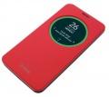 Чехол Asus View Flip Cover для ZenFone 2 ZE550KL, Полиуретан/Поликарбонат, Красный 90AC00R0-BCV003