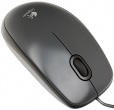 Мышь проводная Logitech M100, 1000dpi, USB (910-001604) Черный