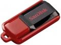 Флешка SanDisk 64Gb SDCZ52-064G-B35, USB 2.0 Черный/Красный