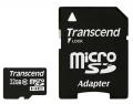 Карта памяти Transcend microSDHC 32Gb Class10 TS32GUSDHC10 + adapter