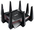 Маршрутизатор Asus RT-AC5300 10/100/1000BASE-TX  4xLAN, 1xUSB2.0, 1xUSB3.0, 10/100/1000Мбит/с, 802.11b/g/n/ac до 5334 Мбит/с, Черный
