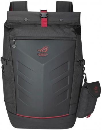 "Рюкзак 17"" Asus Ranger Backpack Gucci, Нейлон, Черный/Красный 90XB0310-BBP010"