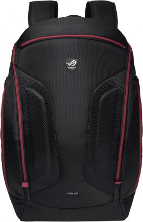 "Рюкзак 17"" Asus ROG Shuttle Backpack 90-XB2I00BP00020 полиэстер, Черный"