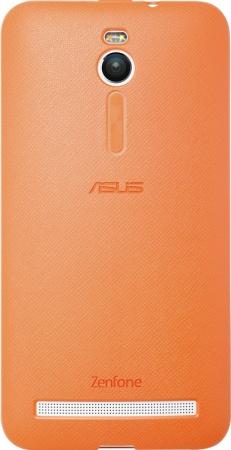 Чехол-бампер для ASUS ZenFone 2/ZenFone GO ZC500TG Bumper Case, Полиуретан, Оранжевый 90XB00RA-BSL3R0