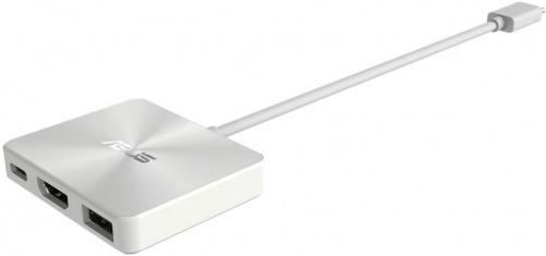 Док-станция Asus Mini-Dock для UX390UA/T303UA/T305CA (USB Type-C in, 1 x USB 3.0, HDMI), 90NB0000-P00110 Белый