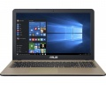 ASUS X540NV CQC N3450 4Gb 500Gb nV GT920MX 2Gb 15,6 FHD BT Cam 2600мАч Win10 Черный/Золотистый X540NV-DM037T 90NB0HM1-M00630
