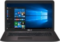 Asus X756UV i3-6100U 4Gb 1Tb nV GT920MX 2Gb 17,3 HD+ DVD(DL) BT Cam 3150мАч Win10 Коричневый 90NB0C71-M00420