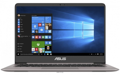 "Ноутбук ASUS Zenbook UX410UA GV399T(90NB0DL3-M08020) ( Intel Core i5 8250U 1600MHz/14"" IPS (LED) 1920x1080,/8192Mb/HDD 0Gb/MS Windows 10 Home (64-bit)/Intel UHD Graphics 620 0Mb)"