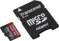 Карта памяти Transcend microSDXC 128Gb Class10 TS128GUSDU1 + adapter
